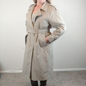 London Fog Trench Coat w/ Detachable Liner